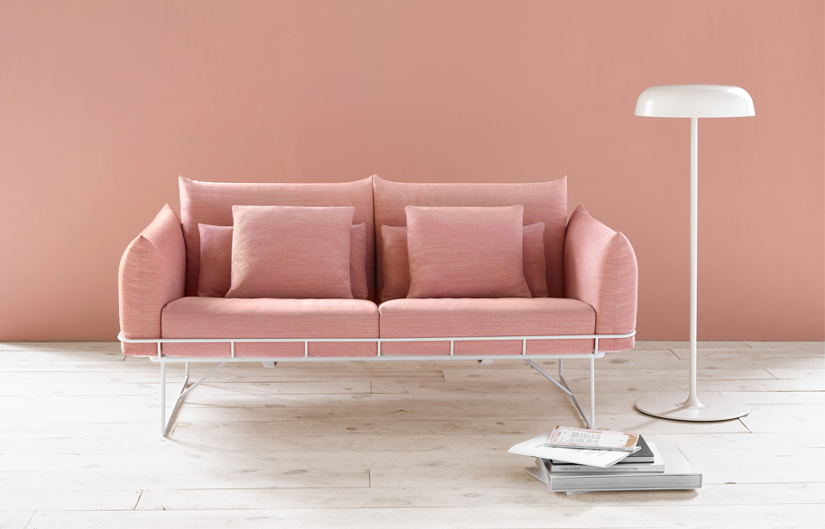 Habitus Living Loves to Lounge - Wireframe Sofa - Herman Miller| Habitus Living