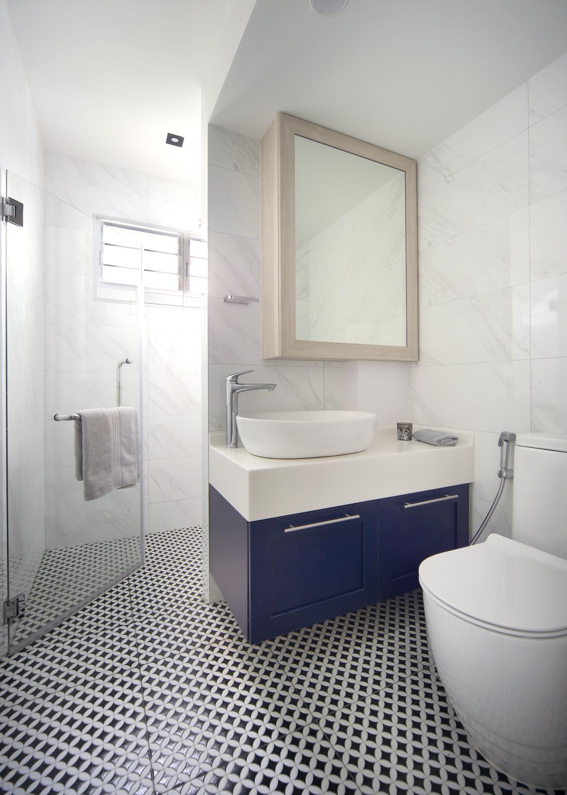 HDB Maisonette Bathroom