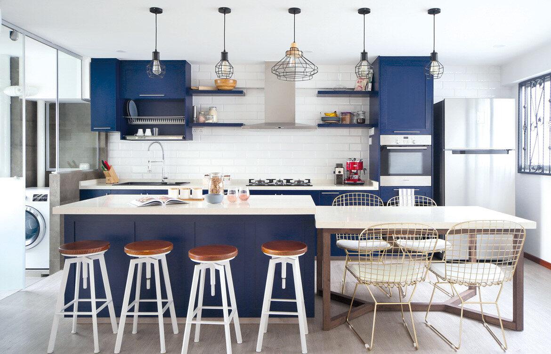 HDB Maisonette Kitchen