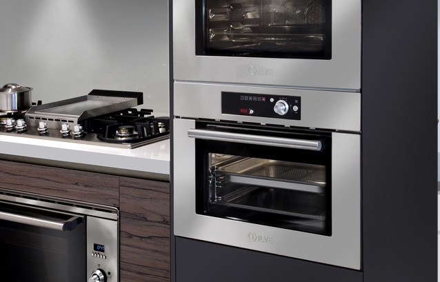 The New Ilve Steam Oven Completes Compact Cooking Collection Range Along With Combination Microwave