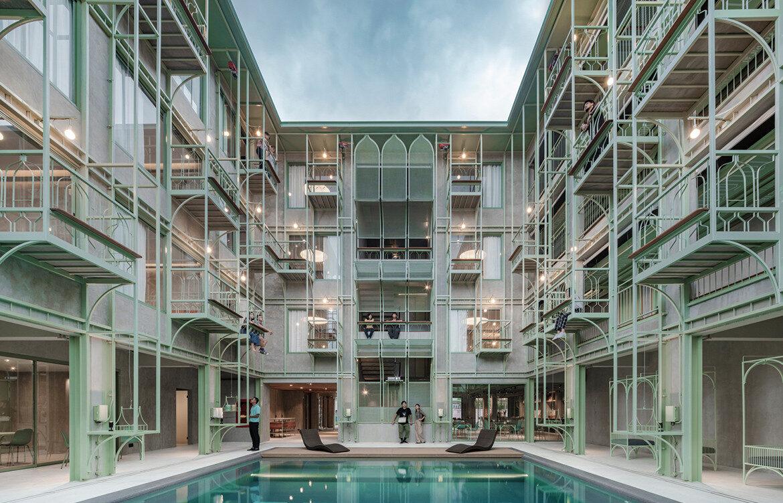 inde awards the building