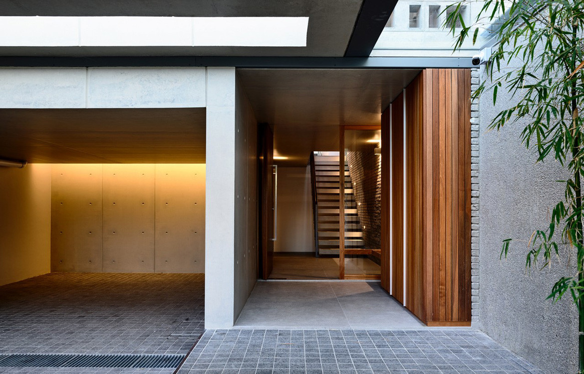 Lily Avenue HYLA Architects Entrance