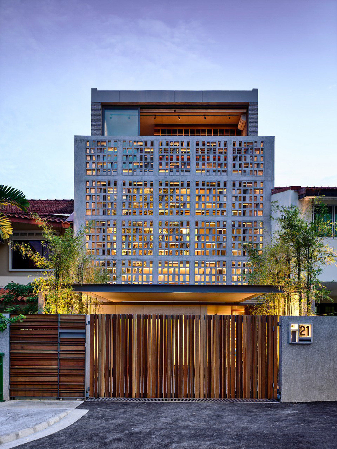 Lily Avenue HYLA Architects Front facade