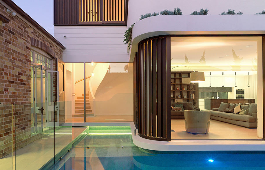 luigi rosselli architects pool house justin alexander alfresco
