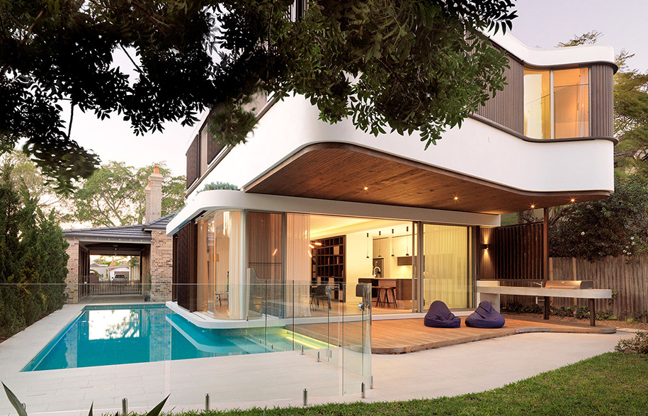 The pool house by luigi rosselli architects habitusliving.com