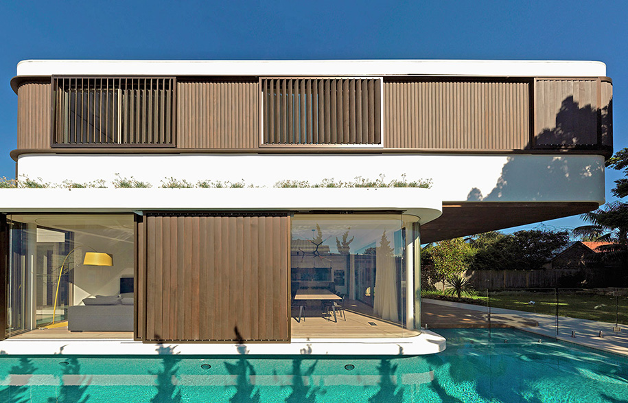 luigi rosselli architects pool house justin alexander pool
