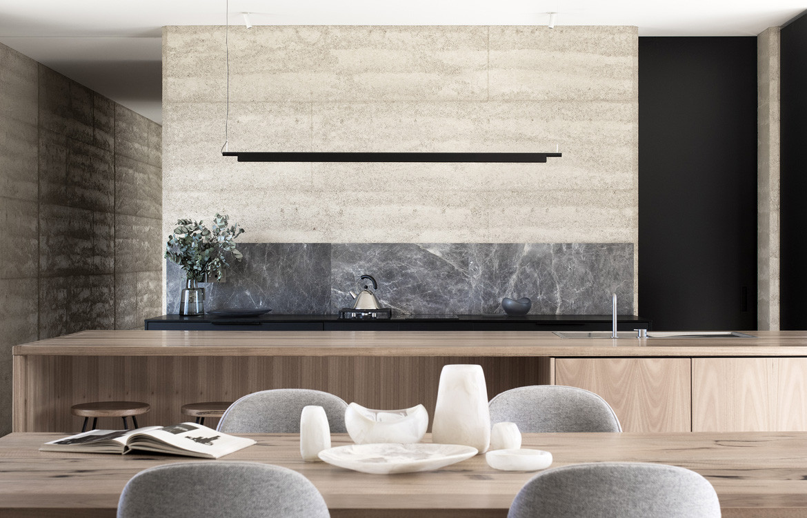 Matilda House Photography by Bon Hosking Dining Kitchen