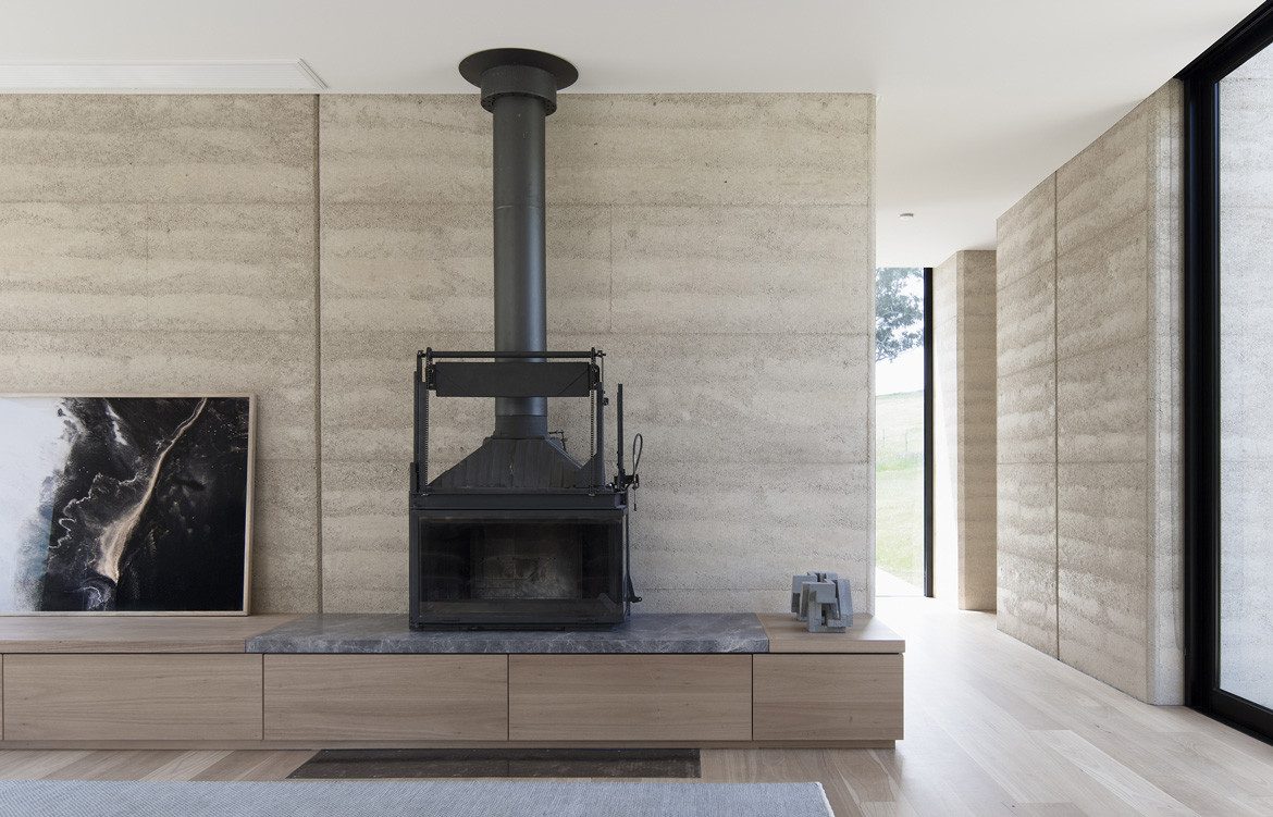 Matilda House Photography by Bon Hosking Fireplace