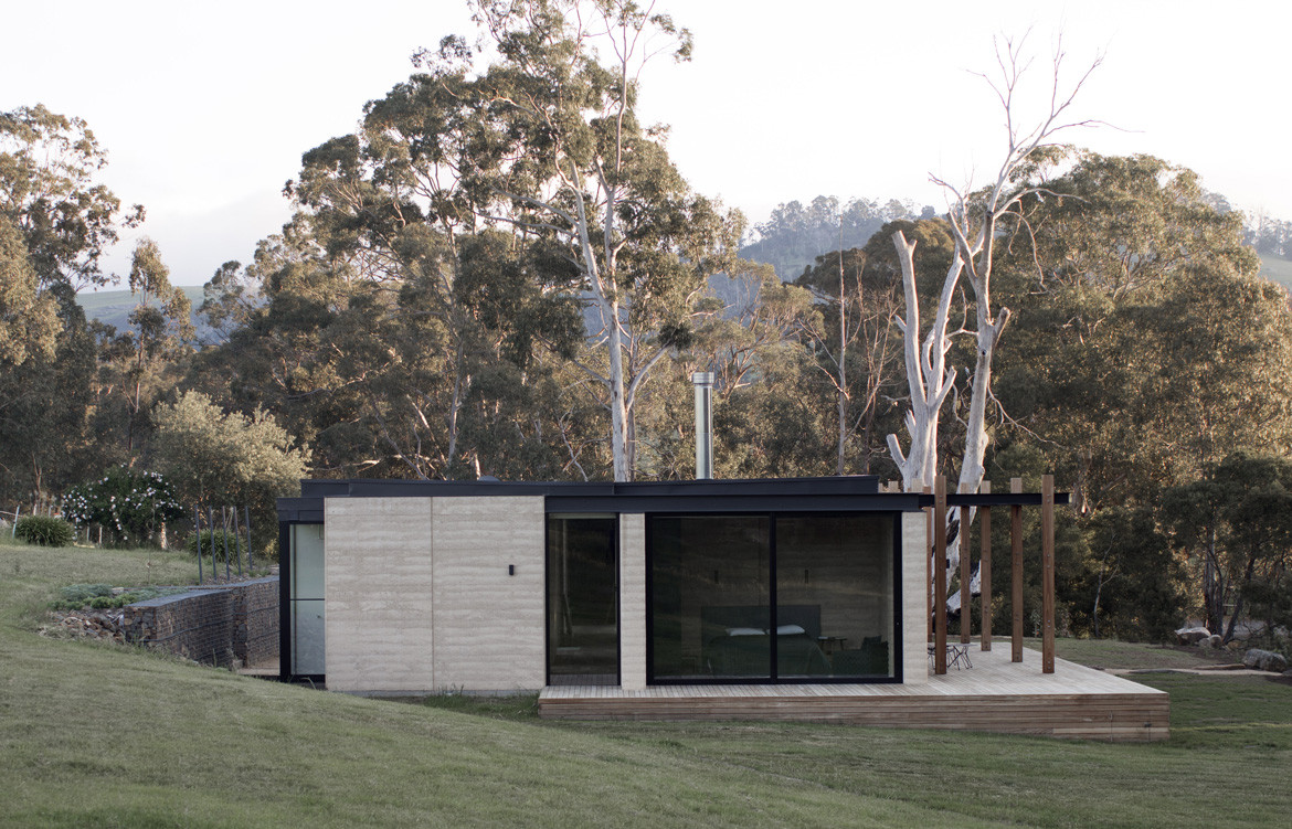 Matilda House Photography by Bon Hosking Hill view