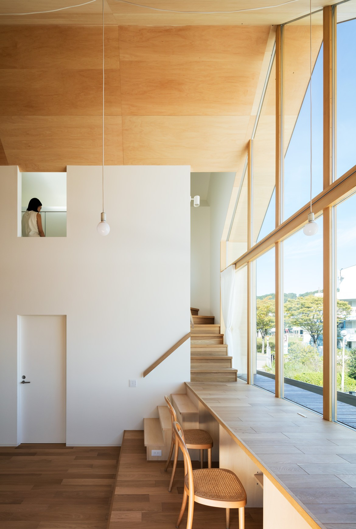 Newtown House Photography by Yohei Sakura Staircase