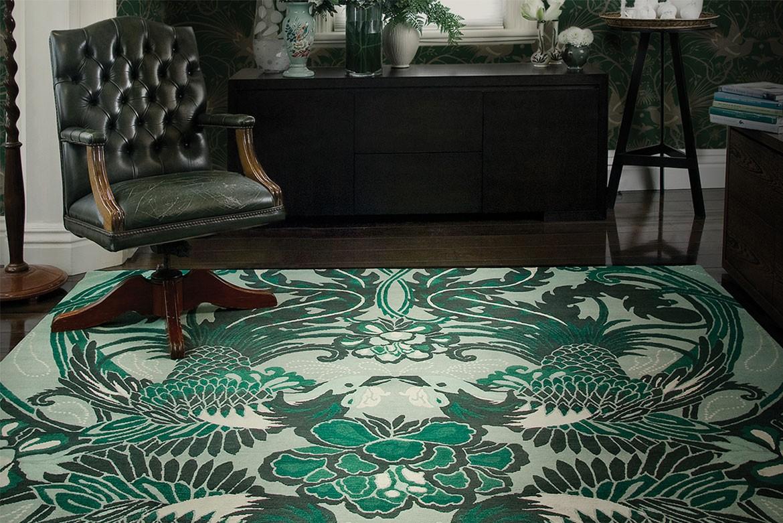 designs blue sale nyc for modern silk large aloe rug rugs designer new area floral carpets eskayel