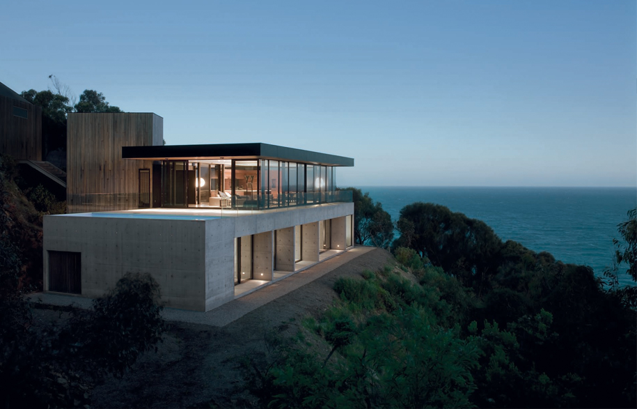 Clifftop house on great ocean road for Funkis house