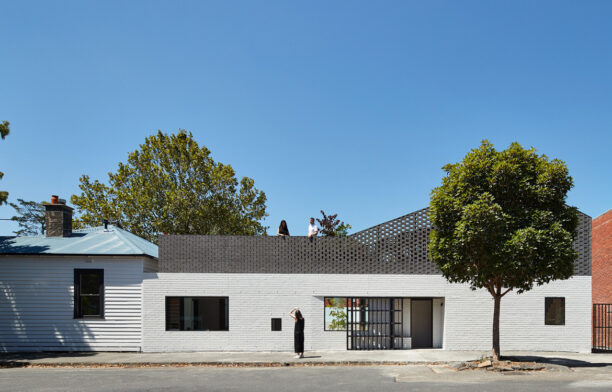Perimeter House Photography by Peter Bennetts Rooftop