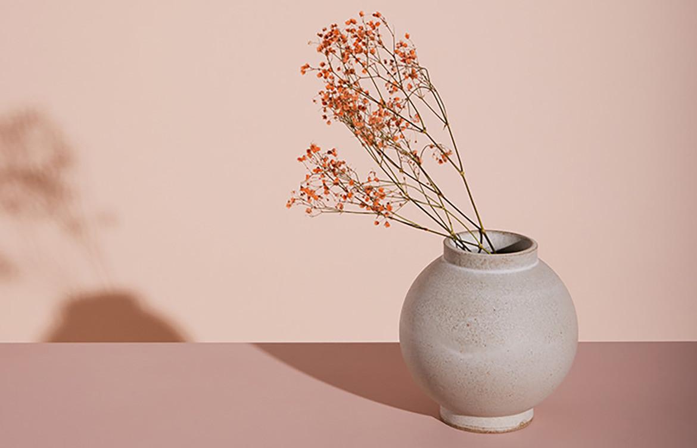 pink Luna Vase