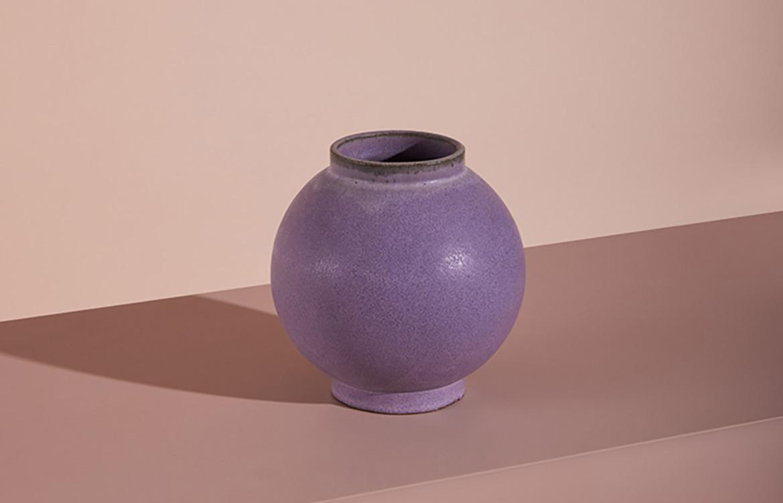 purple Luna Vase