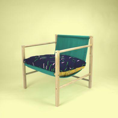 Rachel Vosila Cushion Green Seat