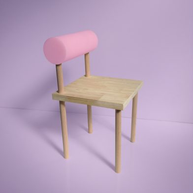 Rachel Vosila Pink Chair