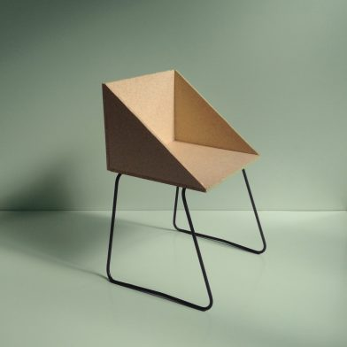 Rachel Vosila Small Wood Chair
