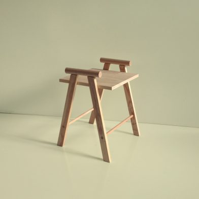 Rachel Vosila Wooden Chair