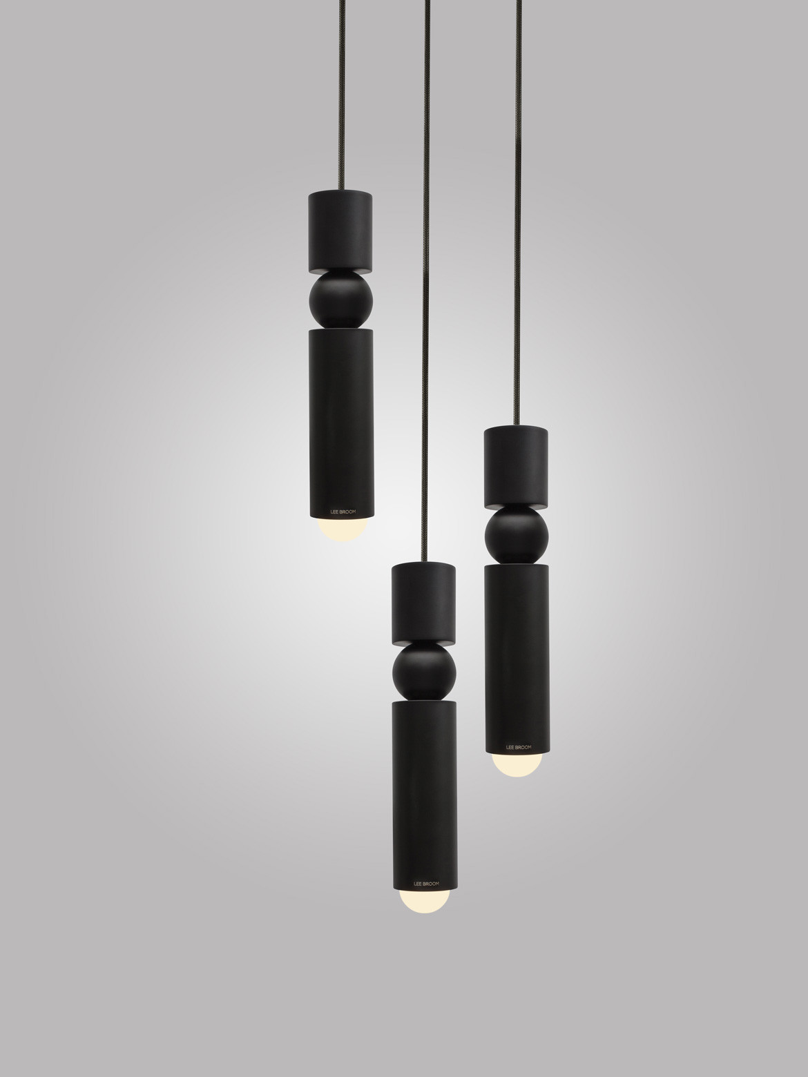 Space Furniture Lee Broom Fulcrum light black