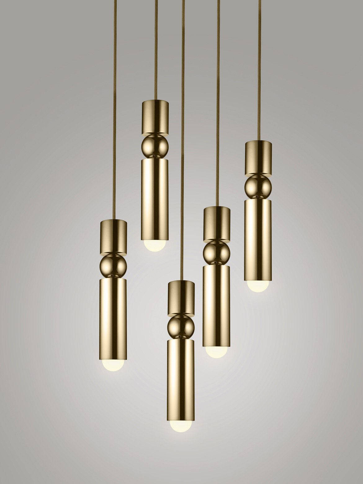 Space Furniture Lee Broom Fulcrum light brass