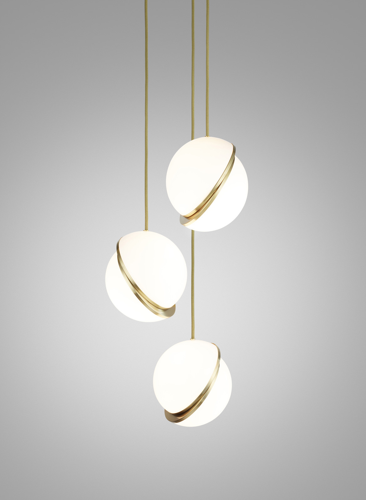 Space Furniture Lee Broom Mini crescent chandelier