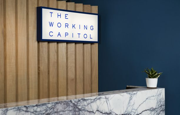 The Working Capital Takenouchi Webb Signage