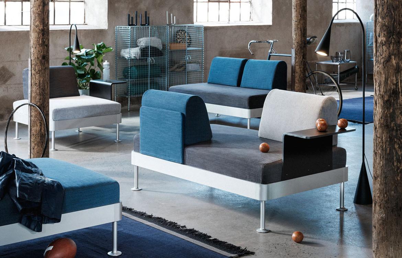 Tom Dixon X Ikea Multi-facing lounge