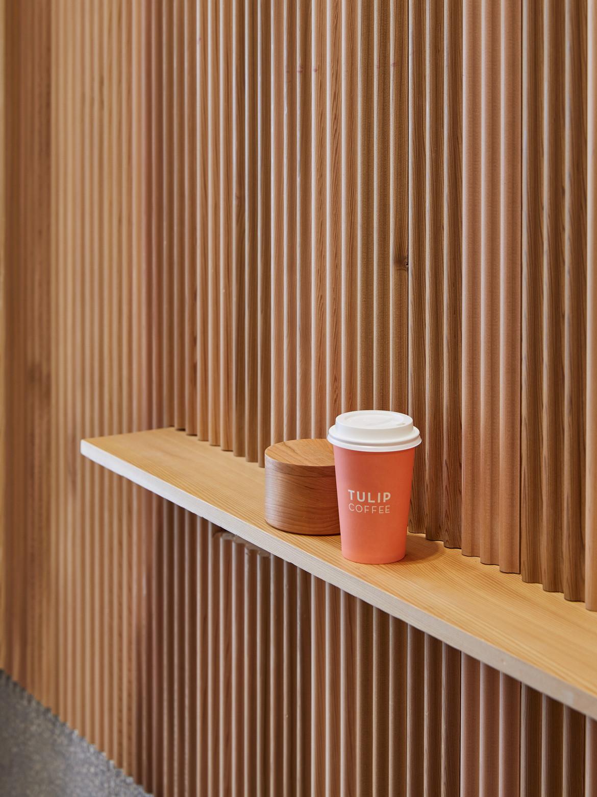 Tulip Cafe CoLab Design Studio Bar area