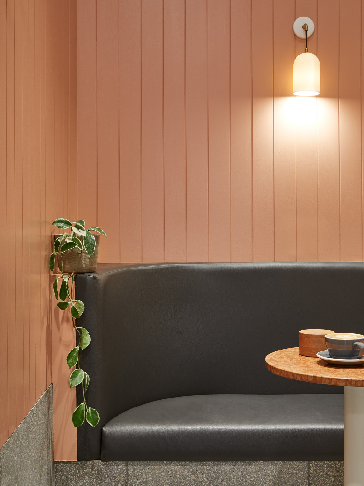 Tulip Cafe CoLab Design Studio Booth seating