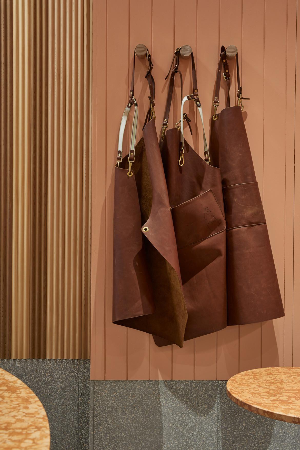 Tulip Cafe CoLab Design Studio Booth Coat hangers