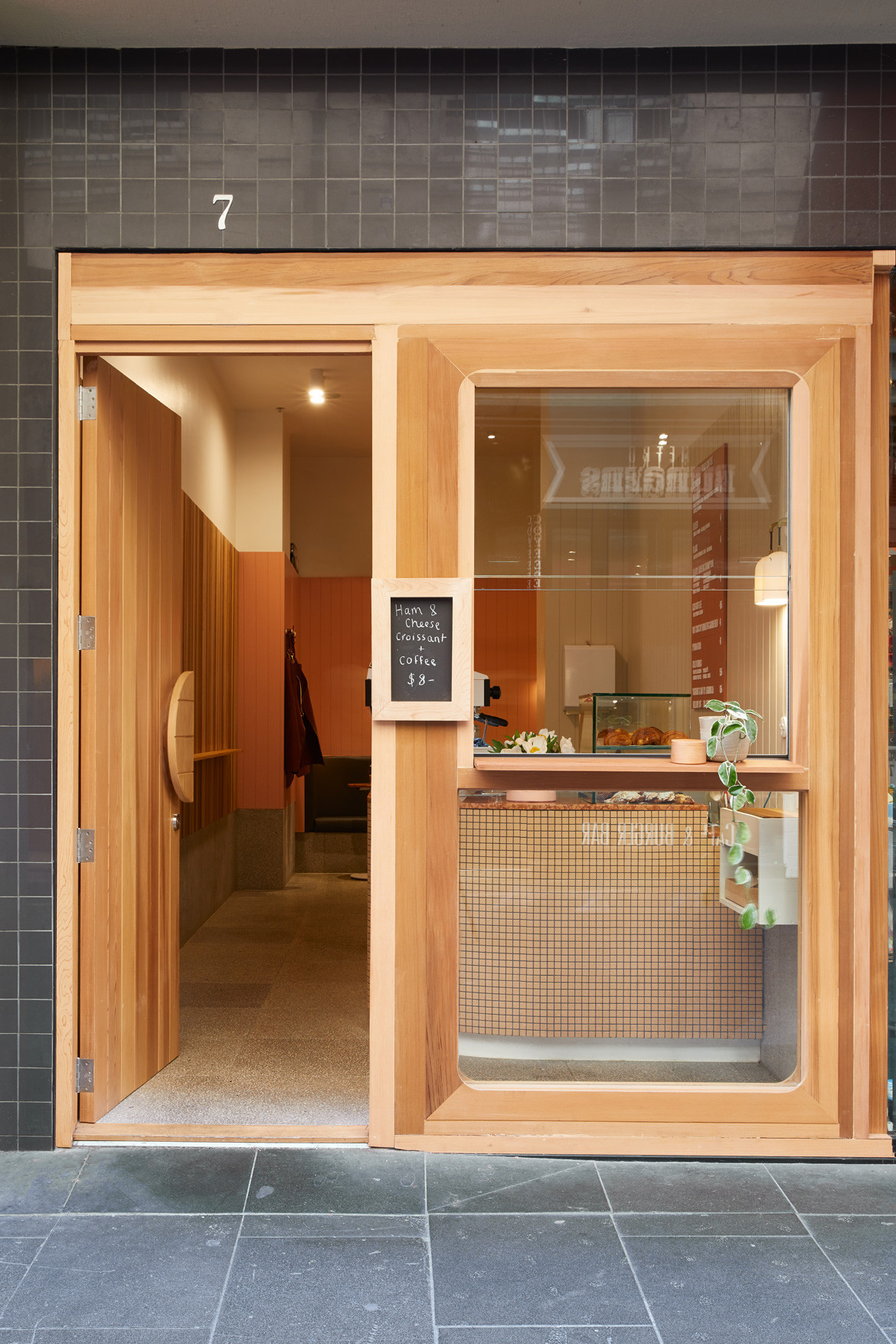 Tulip Cafe CoLab Design Studio Booth Front facade