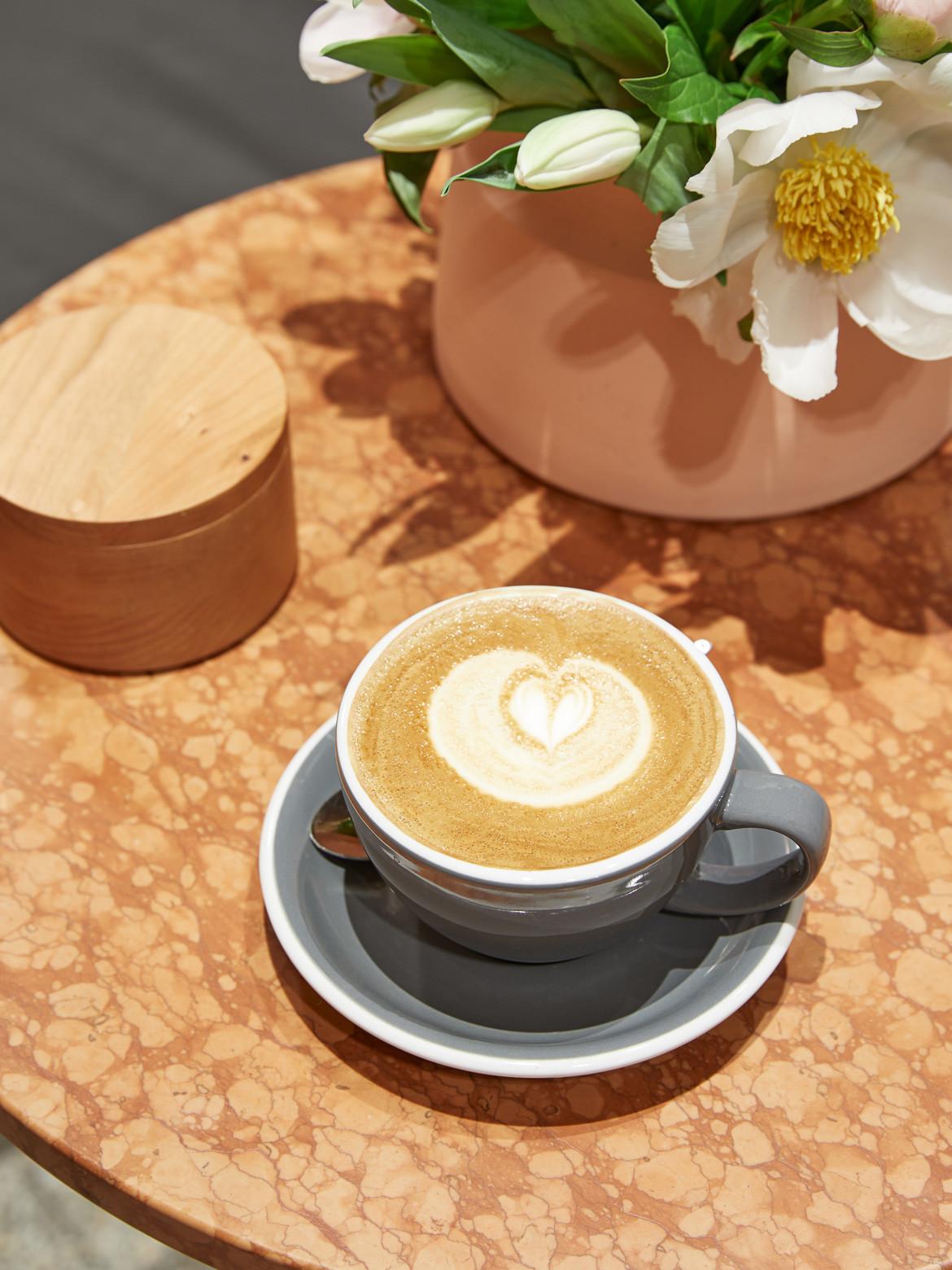Tulip Cafe CoLab Design Studio Table