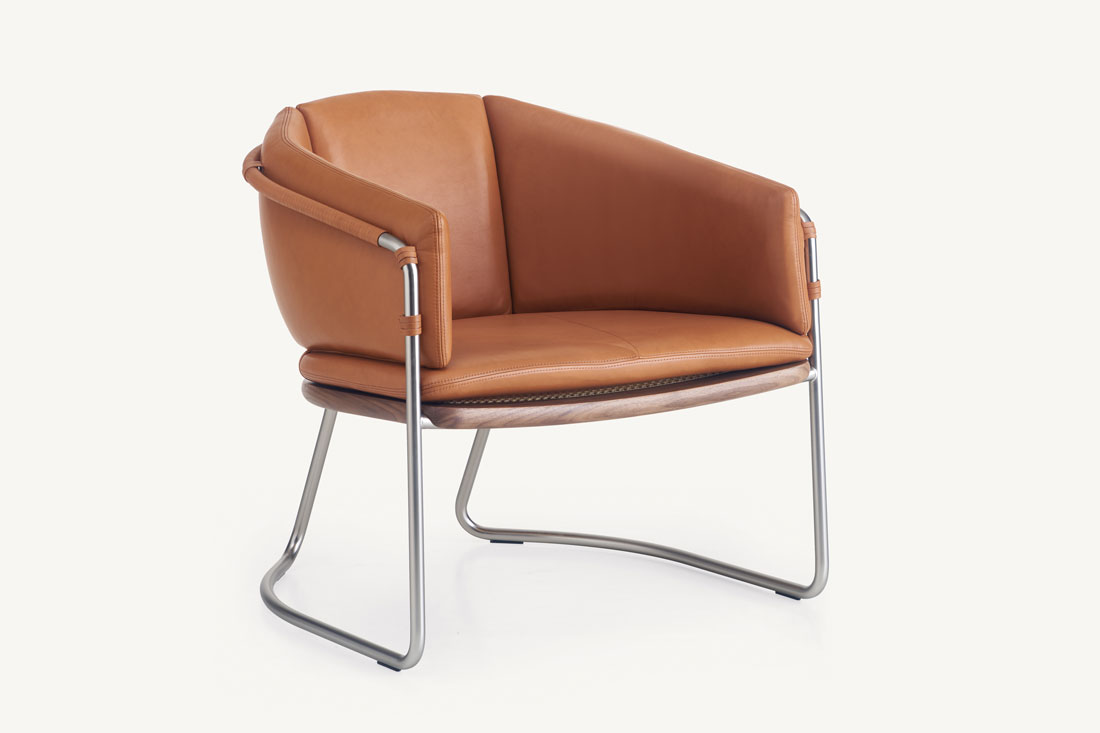 BassamFellows lounge chair