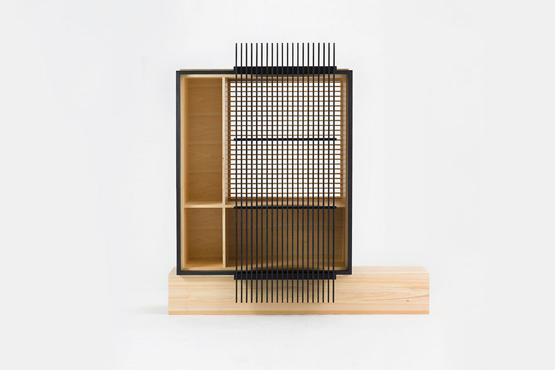 Ariake Collection Kumiko cabinet