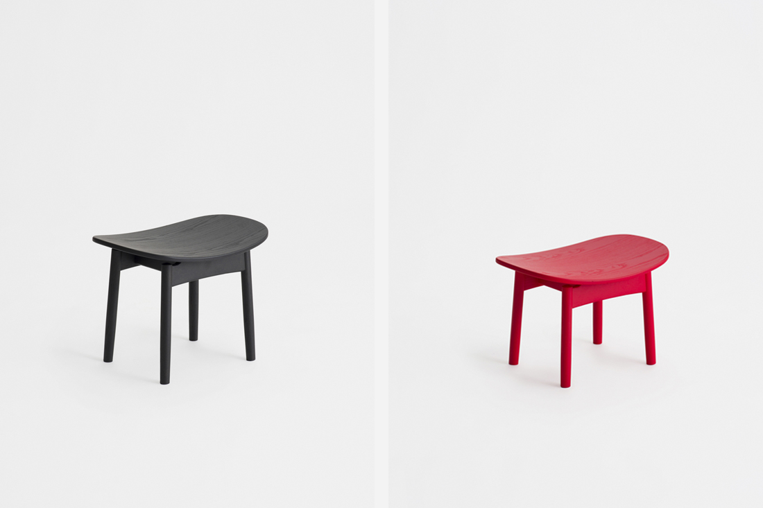 Ariake Collection Saga Stool