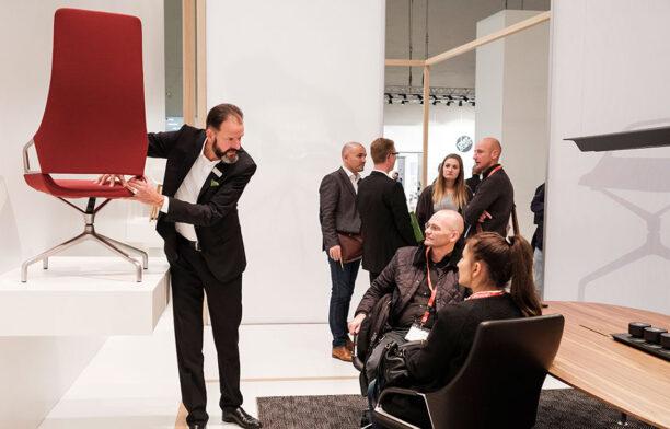 Wilkhahn The Luminary 2018 Red Chair