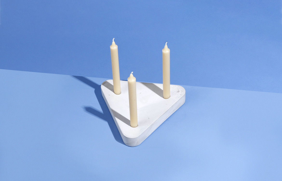 Pour Candle Holder Three